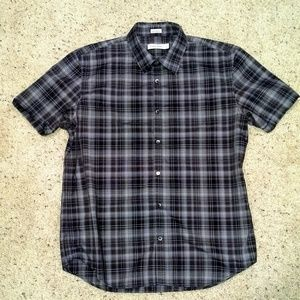 Calvin Klein mens short sleeve shirt